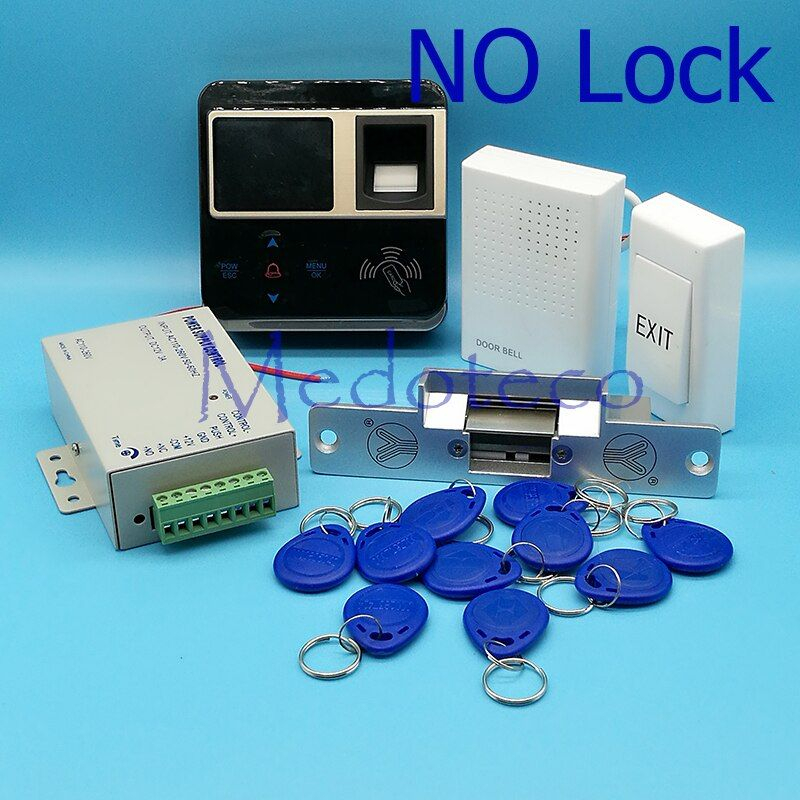 Kit completo huella dactilar y tarjeta RFID Control DE ACCESO huella digital Control DE ACCESO sistema Control DE ACCESO LER puerta m-f211