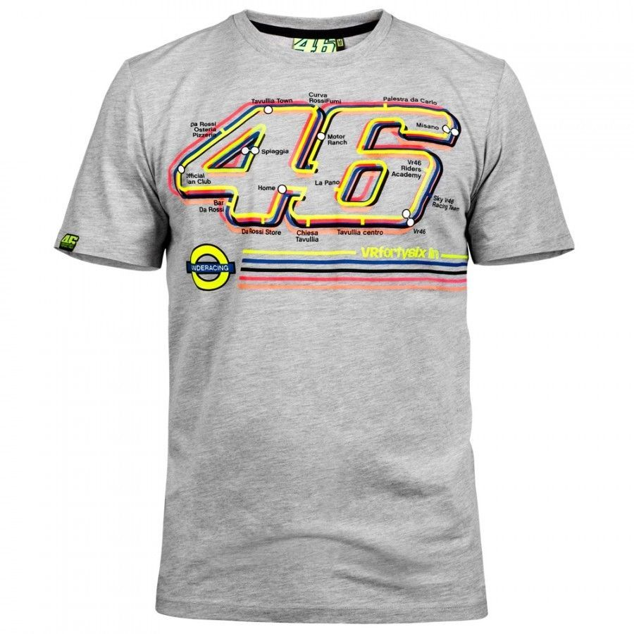 free shipping 2016 NEW VALENTINO ROSSI VR.46 MENS THE DOCTOR T-SHIRT TEE YELLOW Moto GP T-Shirt T shirt