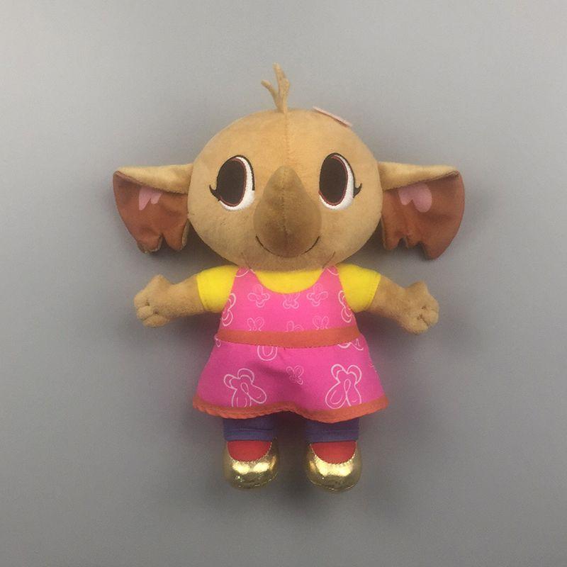 Véritable PELUCHE Bing lapin flop sula pando en peluche jouet Hoppity de Voosh bing lapin lapin en peluche animaux jouets enfants cadeau De Noël