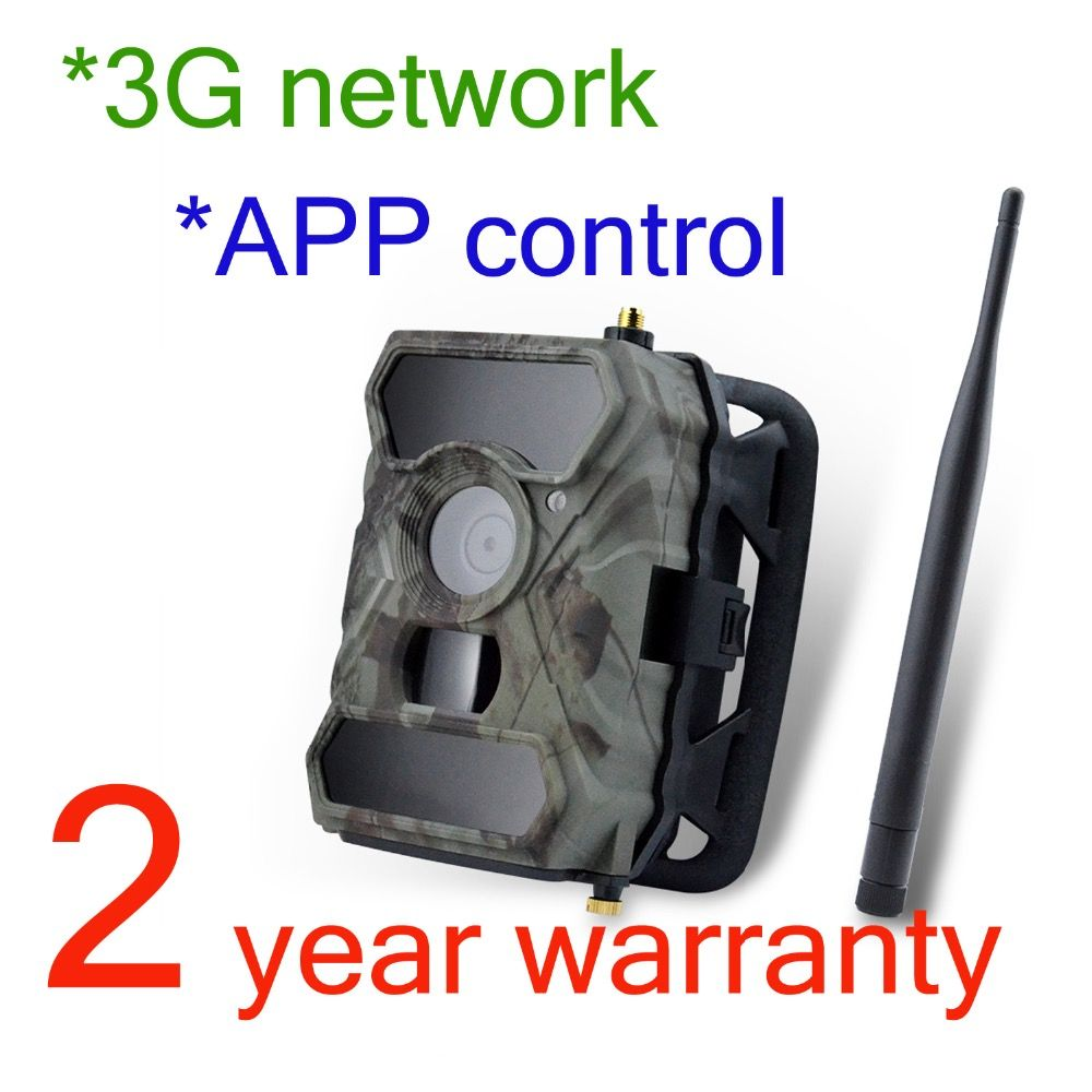 Willfine 3.0CG App Control Outdoor Surveillance Cameras 3G Wildlife Cameras MMS Hunting Game Cameras 3G Wild Hunter Cameras