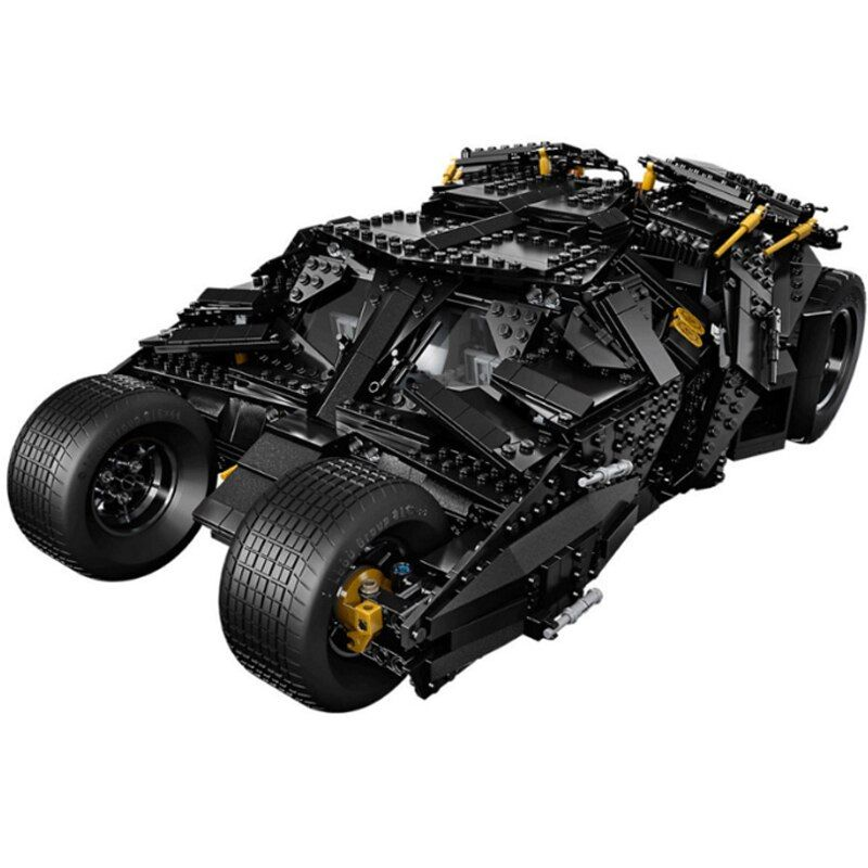 Lepin 07060 1969Pcs Super Heroes Batman 76023 Chariot The Tumbler Batmobile Batwing Building Blocks Bricks Education Toys 7111