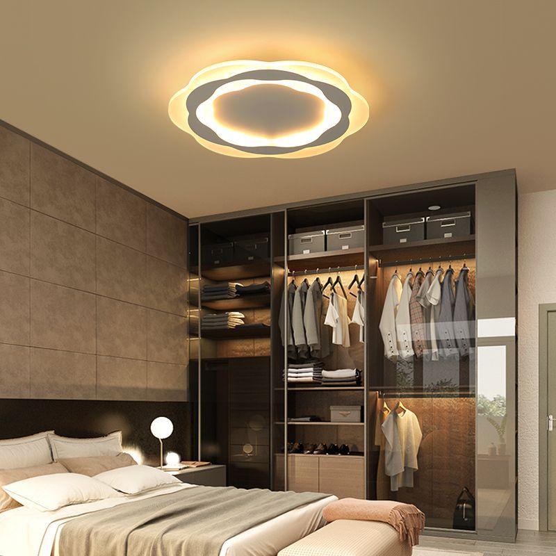 Ultradünne Oberfläche Montiert Dreieck Moderne led decke lichter lampe für wohnzimmer schlafzimmer lüster de sala hause Dezember Decke Lampe