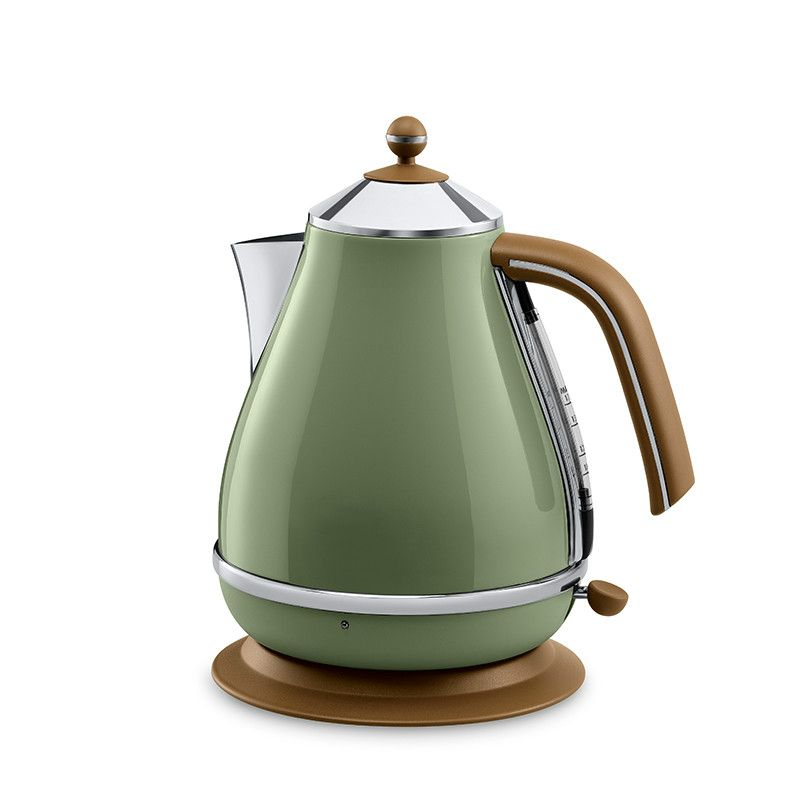 Retro breakfast series electric kettle stainless steel heating