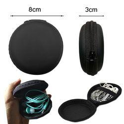 Kopfhörer Halter Fall Lagerung Harten Tasche Box Fall Für Kopfhörer Kopfhörer Zubehör Ohrhörer speicher Karte USB Kabel Tasche