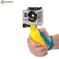Плавающий Карманный монопод Поплавок для Gopro аксессуары для камеры Hero 4 3 3 2 1 SJCAM SJ4000 Xiaoyi действие Камера спортивный мини DV