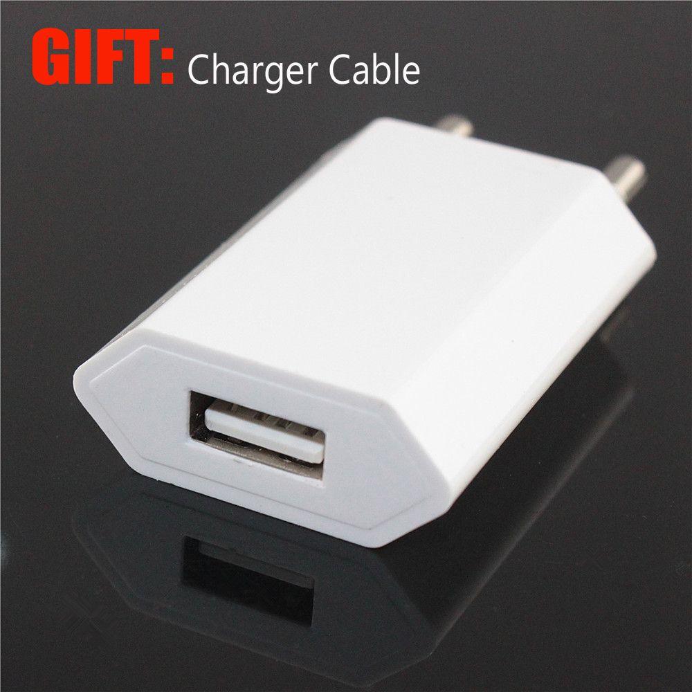 USB Ladegerät Adapter für iPhone 5 5 s 5c X 8 7 6 6 s Plus iPad EU Stecker Wand Strom Handy-ladegerät für Samsung S8 Xiaomi + Geschenk