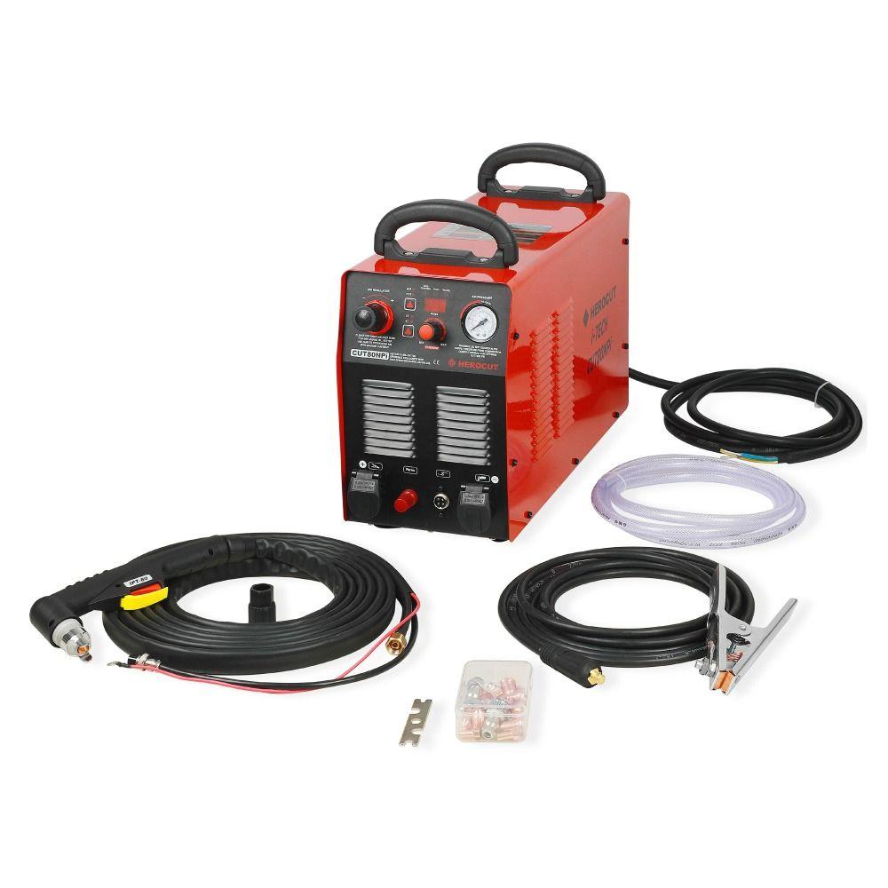 CNC Non-HF Pilot Arc CUT80NPi 80A 220V IGBT Plasma Cutter Digital Control Plasma Cutting Machine Cutting Thickness 25mm Show