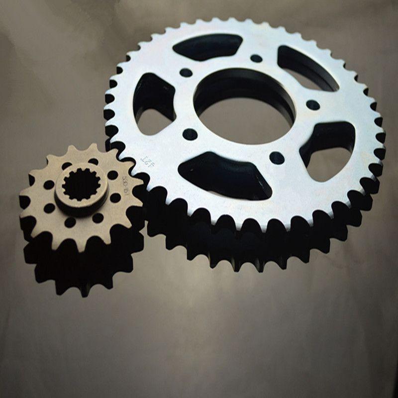 Motorcycle parts Chain 530 Front & Rear Sprocket 42-15T For Honda CB400 1992-1998 CB400SF VTEC 400 1999-2008 sprockets