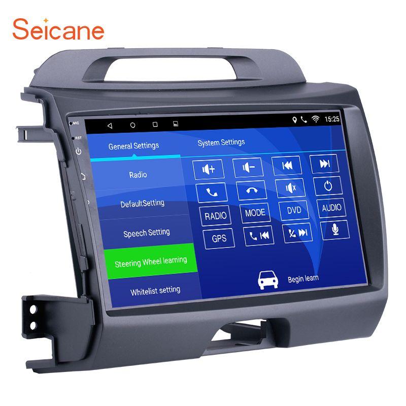 Seicane Android 6.0 9 inch Wifi Head Unit Radio Audio GPS Multimedia Player For 2010 2011 2012 2013 2014 2015 KIA Sportage