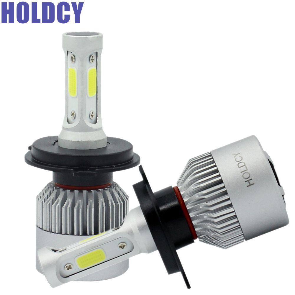 H4 H7 H13 H11 H1 9005 9006 COB LED Headlight 72W 8000LM All In One Car LED Headlights Bulb Automobile Head Lamp Fog Light 6500K