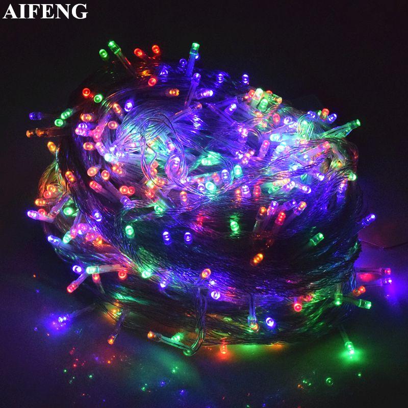 AIFENG Guirlande Lumineuse 20 M 30 M 50 M 100 M Guirlande 200 Led 400 Led 500 Led Guirlande Lumineuse pour Wedding Party De Noël Décoration de Vacances