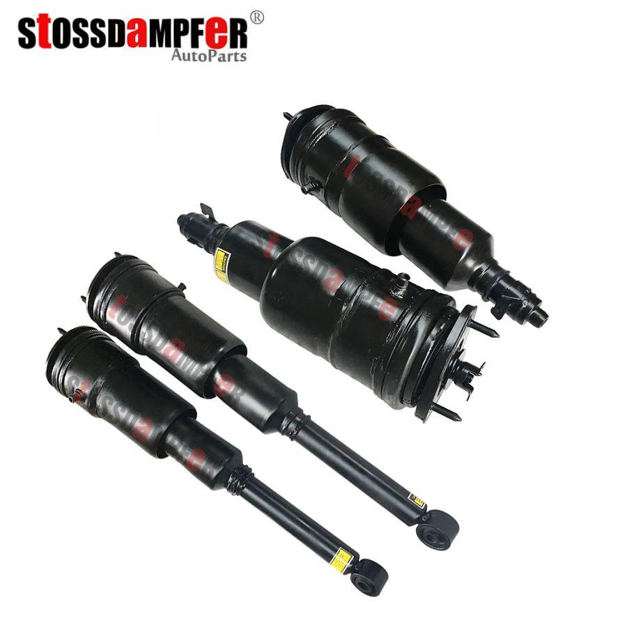 StOSSDaMPFeR 4pcs Rear Air Spring Front Air Ride Air Shock Fit Lexus Toyota LS600 (48010)4802050240 (48090)4808050201