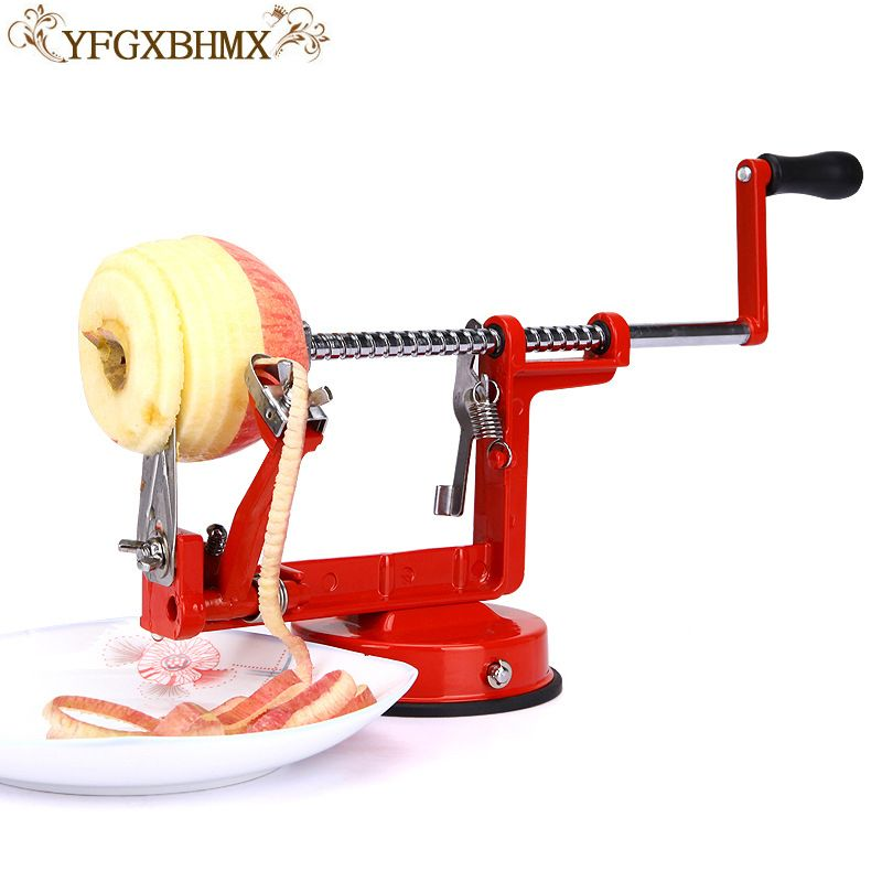 apple peeler fruit peeler slicing machine/stainless steel apple fruit machine peeled tool creative kitchen and vegetable tools