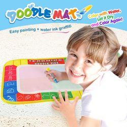 29*30 Cm Doodle Gambar Air Tikar dengan Sihir Lukisan Pen Beracun Air Lukisan Tikar Pendidikan Awal gambar Mainan untuk Anak