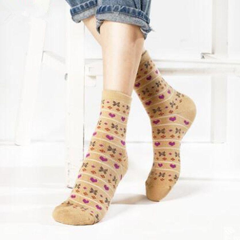 2018 Для женщин зимние носки высокого качества хлопка с длинным петухи модные Носки 15 пар/компл.