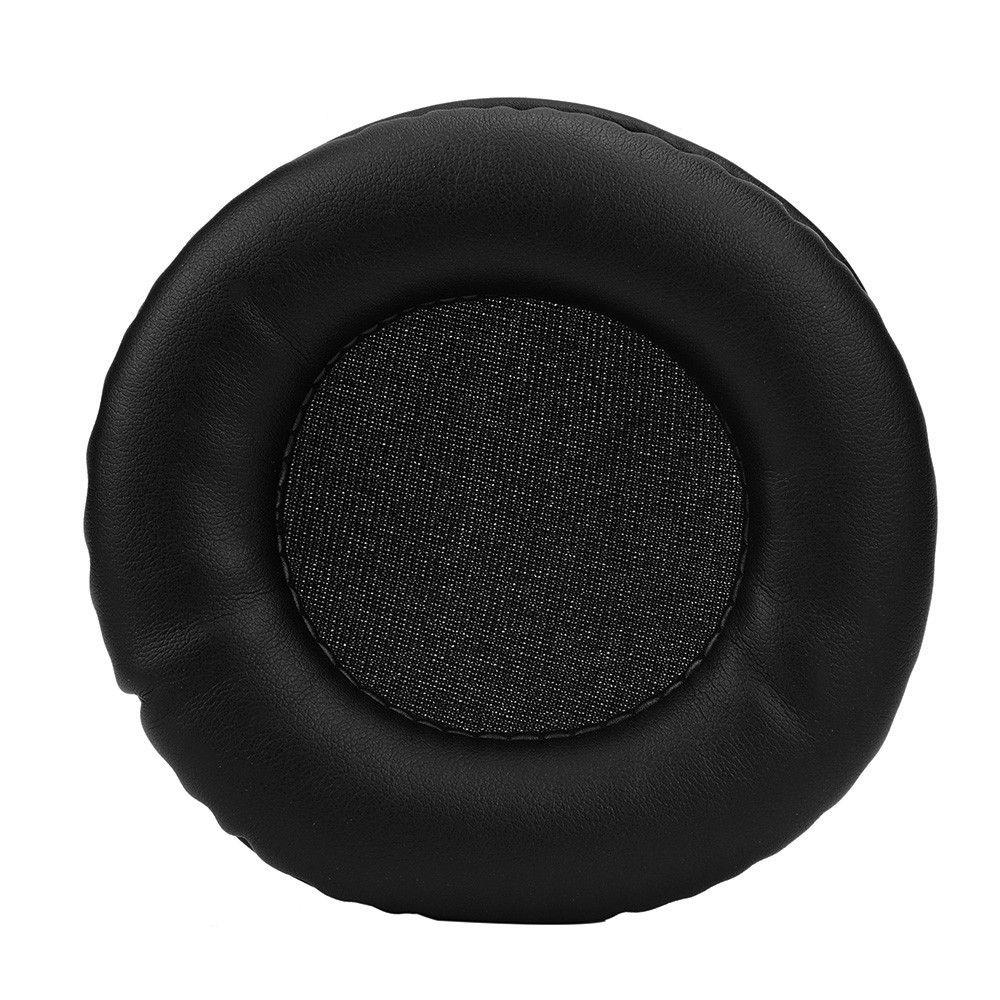 Neue Ankunft 1 Paar Protein Leder Ersatz Kopfhörer Ohrpolster Ohrpolster Sponge Weiche Schaum Kissen für 100 MM Kopfhörer # ED