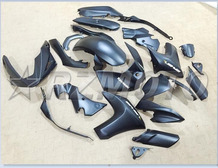 Komplette Verkleidungen Für KAWASAKI ER6N 2012 2013 2014 2015 Abs-kunststoff Kit Motorrad Verkleidung Kit Compression keine injektion