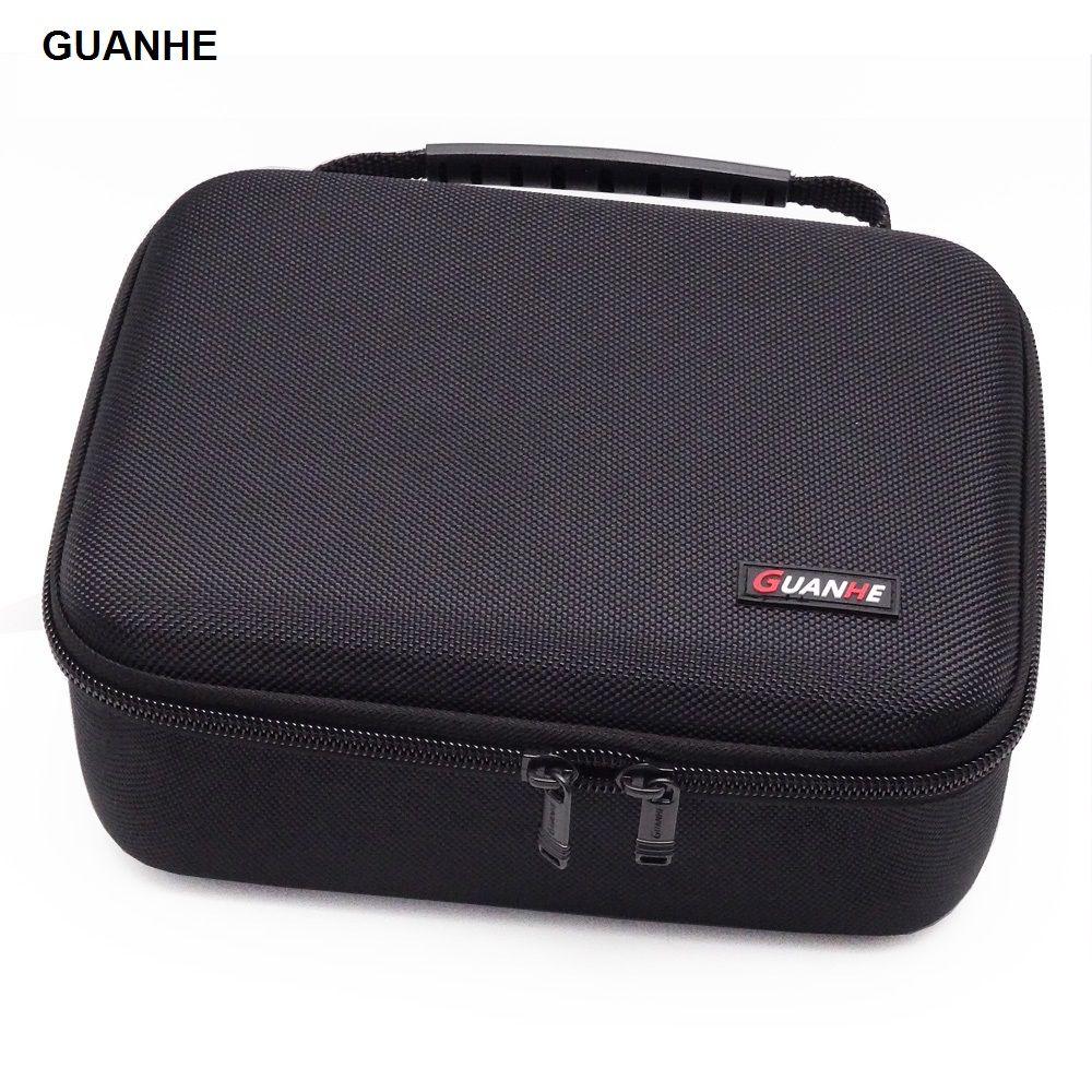 GUANHE 3.5 pouces grand disque dur USB lecteur Flash support pour disque dur externe câble organisateur sac étui de transport usb flash disque GH1603