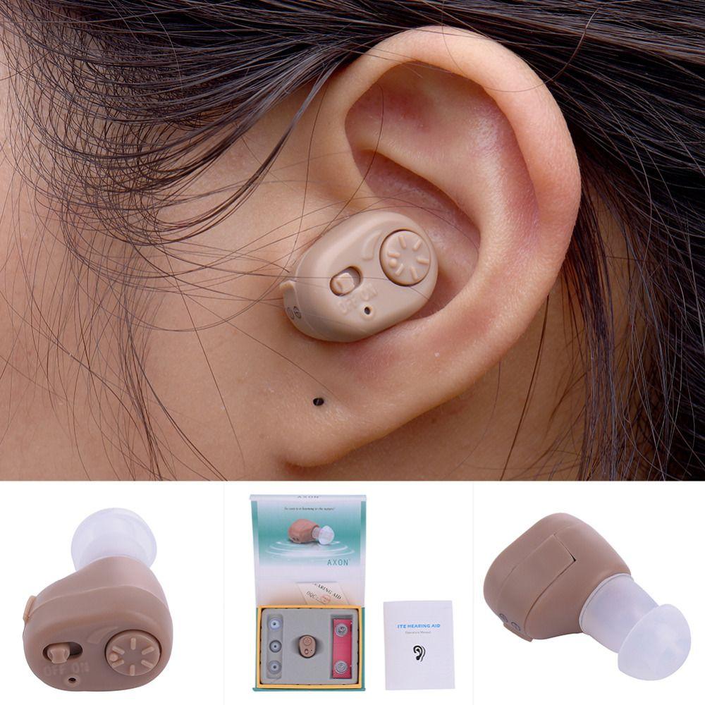 1pcs Mini Ear hearing Controller Hearing Assistance Device Sound Amplifier Elderly Deafness Hearing Aids Ear Care tool AXON K-86