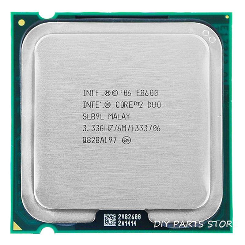 Processeur INTEL Core 2 Duo E8600 Socket LGA 775 processeur intel E8600 (3.3 Ghz/6 M/1333 GHz) Socket 775