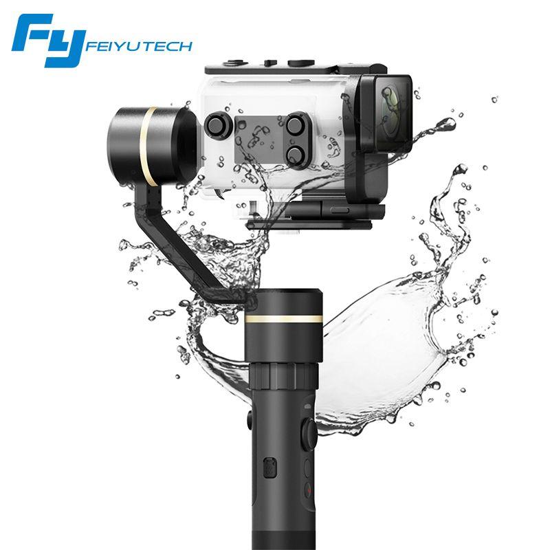 FeiyuTech G5GS Gimbal Spritzwassergeschützt 3-achsen Handheld Stabilisator für Sony AS50 AS50R Sony X3000 X3000R für 130g-200g SONY Kamera