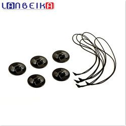 LANBEIKA Camera Accessories 5pcs/lot Tethers With 3M Double Side Tape For SJCAM SJ4000 SJ5000 SJ6 SJ7 M20 Go Pro 6 5 4 3+ Eken