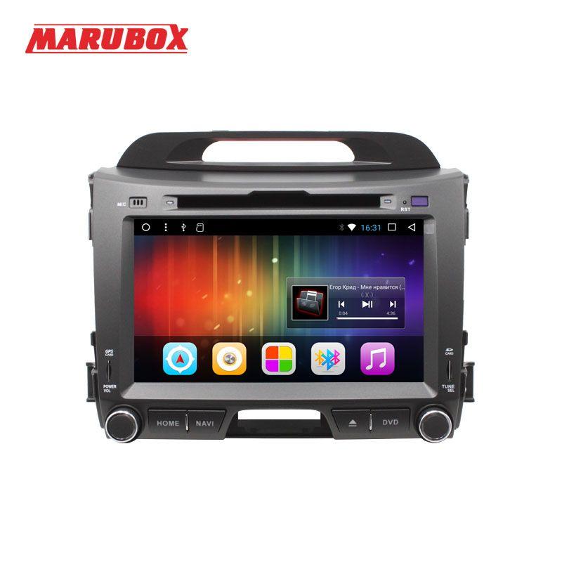 MARUBOX 201DT3 Android 7.1 Car Multimedia Player Stereo For Kia Sportage 2010 + DVD/Bluetooth/Radio/Audio Mirrorlink Capacitive