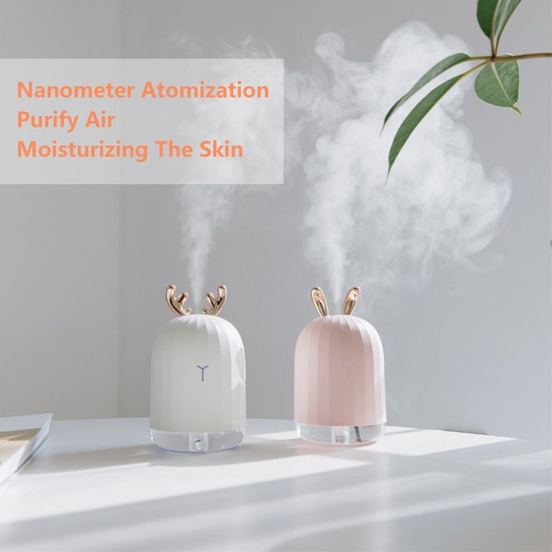 Haute Qualité 220 ml Humidificateur D'air Ultrasonique Aroma Huile Essentielle Diffuseur pour La Maison De Voiture USB Brumisateur Mist Maker avec LED lampe de nuit
