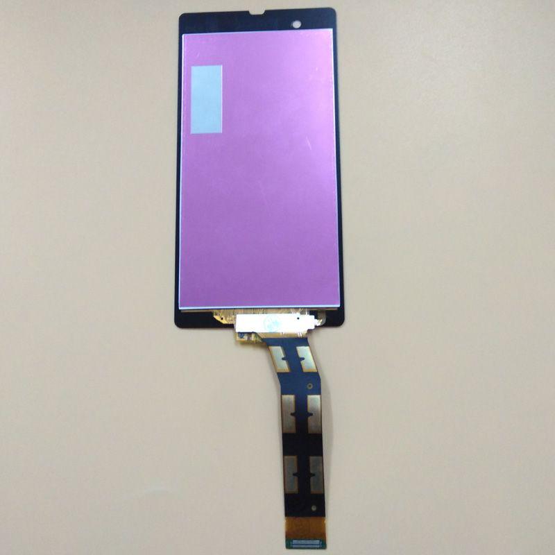 For Sony Xperia Z L36H L36i C6606 C6603 C6602 C660X C6601 Black Touch Screen Digitizer Panel + LCD Display Monitor Assembly