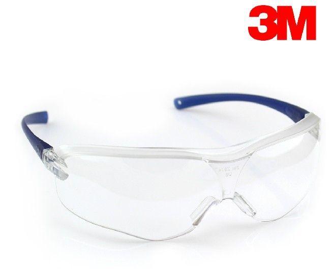 3 M 10434 lunettes de sécurité résistant aux chocs lunettes transparentes Anti-poussière lunettes Anti-vent Anti-sable lunettes de protection LT011