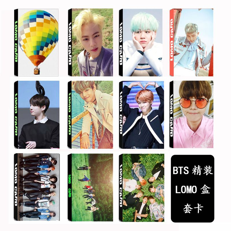 [TOOL]KPOP BTS Group Bangtan Boys YOUNG FOREVER Album LOMO Cards K-POP Fashion Self Made Paper Photo Card HD Photocard  #0381