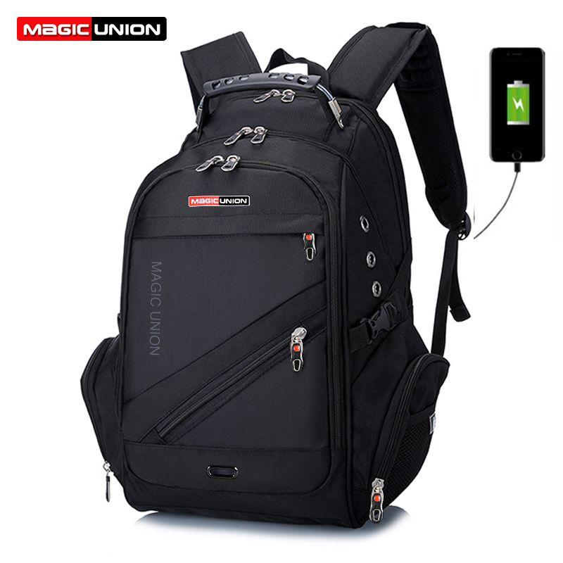 <font><b>MAGIC</b></font> UNION Children School Bags boy Backpacks Brand Design Teenagers Best Students Travel Usb Charging Waterproof Schoolbag