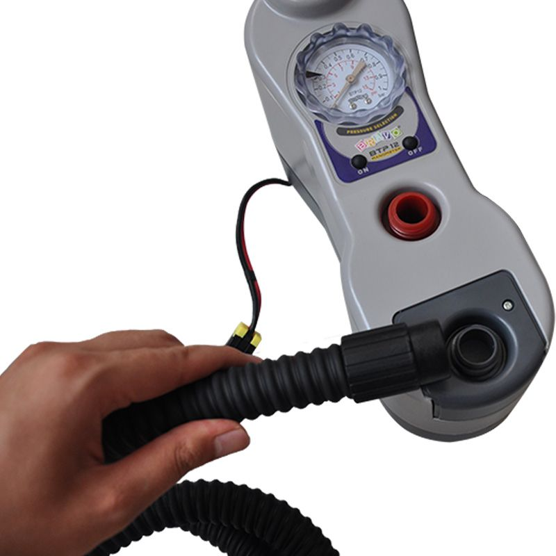 Electric Inflator For Rubber Boats Canoeing With Battery Marine accessories Free Shipping