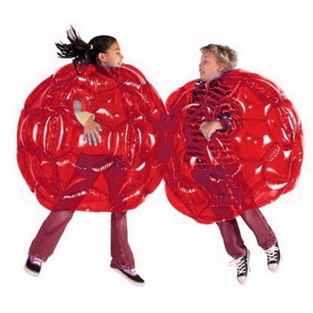 2 Color 60CM Body Bumper Balls Bubble Soccer Suits LOT Environmentally Friendly PVC Funny Body Zorb Ball For Kids 24