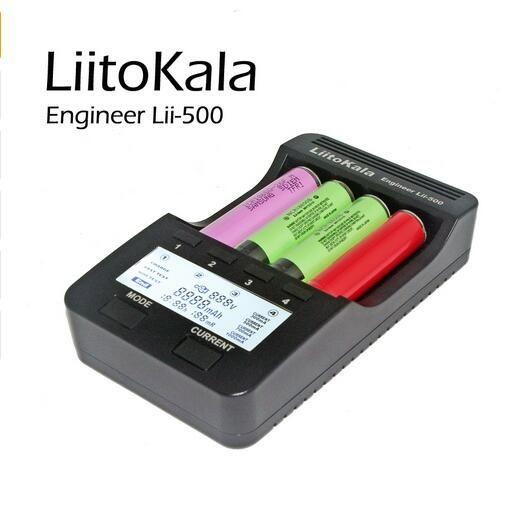Nouveau liitokala lii500 intelligent universel lcd li-ion nimh aa aaa 10440 14500 16340 17335 17500 18490 17670 18650 chargeur de batterie