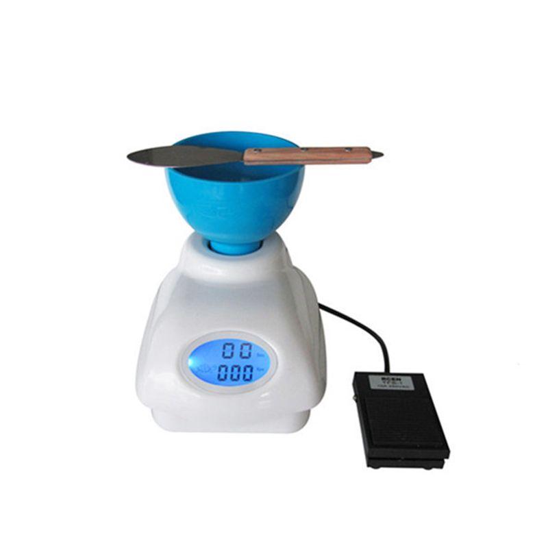 Dentallabor Eindruck Alginat Material Mixer arbeitssparende Halbautomatische Alginat Mixer mit High-end Lebensmittel & LCD bildschirm
