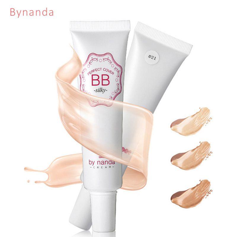 DURCH NANDA BB Creme Dauerhafte Make-Up Concealer Moisturizing Foundation Bilden Kit natürlichen bb cc Creme Korean Kosmetik