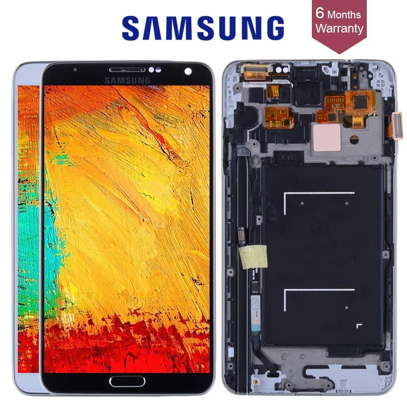 5.7'' LCD For Samsung Galaxy Note 3 LCD Display Note3 N9005 Touch Screen Digitizer with FrameN9002 N9006 Replace