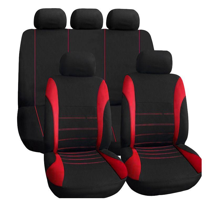 Housses de siège auto accessoires intérieurs housse de siège AUTOYOUTH Compatible Airbag pour Lada Volkswagen rouge bleu gris protecteur de siège