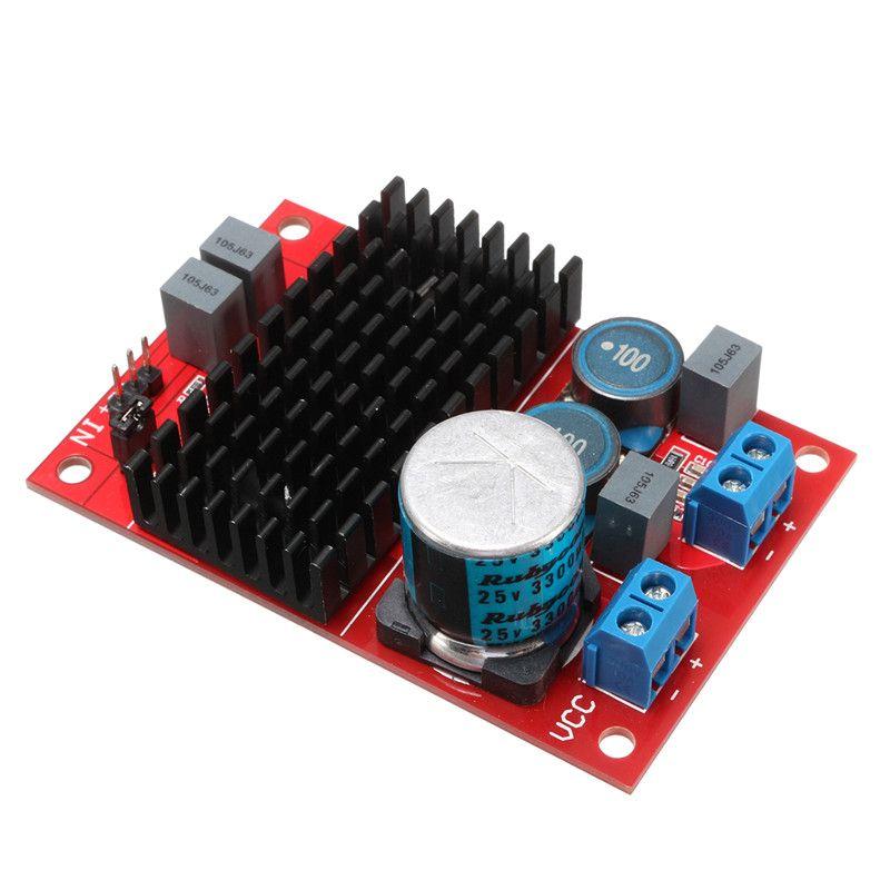 Nouveauté vente chaude DC 12 V-24 V TPA3116 Mono canal numérique puissance amplificateur carte BTL Out 100 W