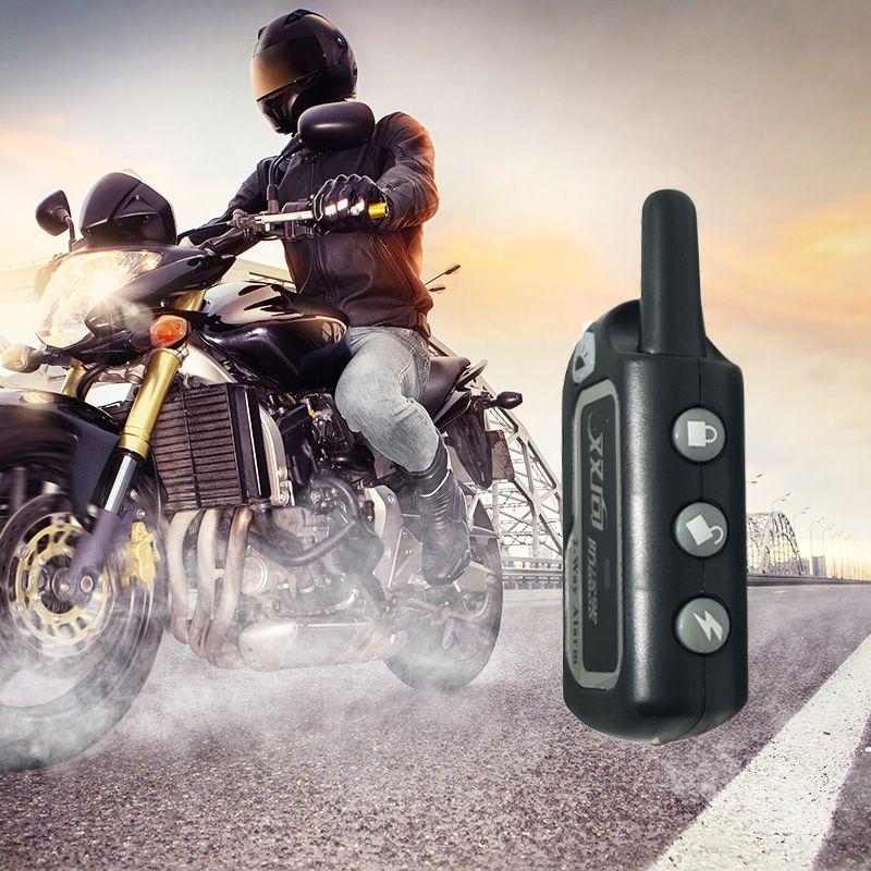 2 Way Мотоцикл Универсальный охранной сигнализации авто скутер система велосипед иммобилайзер Пульт дистанционного Управления мотоцикл дви...