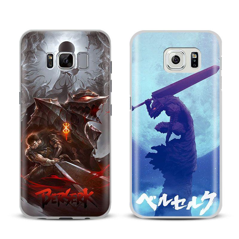 Berserker Eingeweide Anime Shell Für Samsung Galaxy S4 S5 S6 S7 Rand S8 s9 Plus Note 8 2 3 4 5 A5 A7 J5 2016 J7 2017