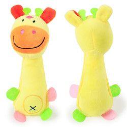 Forma Animal engraçado Filhote de Cachorro do animal de Estimação Brinquedos Do Cão de Pelúcia Macia Som Chew Squeaky Toy Presentes