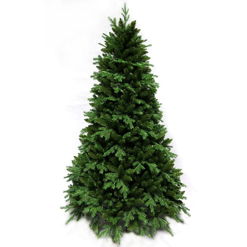 1.5M / 1.8M / 2.1M / 2.4M Christmas tree naked tree Christmas day PE + PVC mixed leaves Christmas tree ornaments