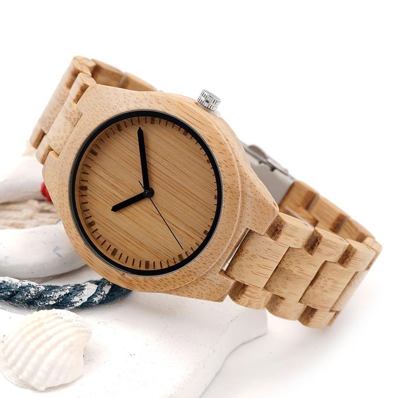 2017 BOBO BIRD Watch Men Luxury Brand Bamboo Wristwatches Male Wood Watches Gifts Clock Relogio masculino C-G27