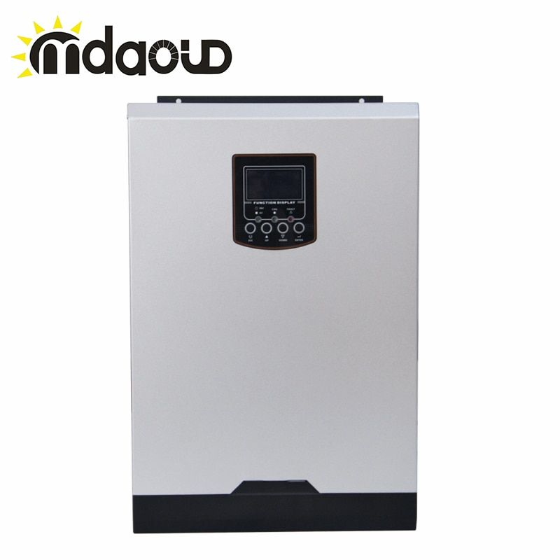 Hybrid off grid 3000 watt 80A DC24v ZU AC230v ladegerät solar inverter Integrierte mppt