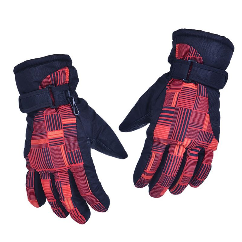 2017 Women Winter Waterproof Warm  Ski Gloves Outdoor Sports Snow Skiing Gloves Windproof Thickening Skiing Gloves 2017 New