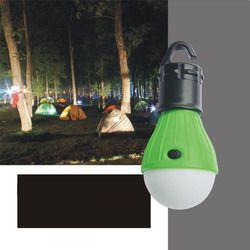 1 pc Portable D'urgence Camping Tente Lumière Douce En Plein Air Suspendus SOS 3 LED Lanters Ampoule De Pêche Lanterne Randonnée Économie D'énergie lampe