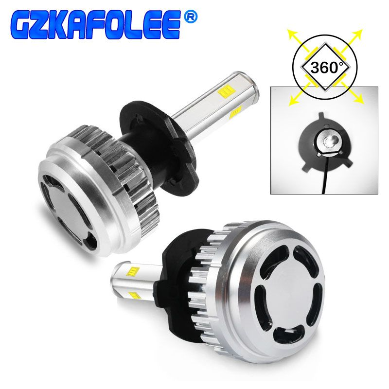 Gzkafolee Car Light Bulbs h7 h4 h1 h3 h8 h9 h11 9005 9006 hb3 hb4 Car LED Lights Led lamp for auto 6000k 60w 10000lm Y70 Chip