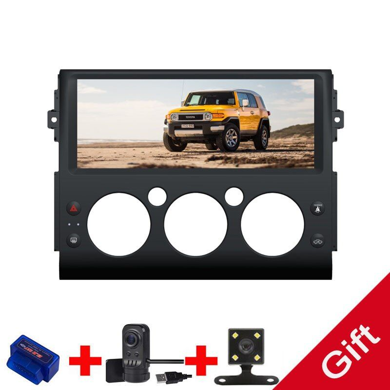Android 9.0 Octa Core PX5/PX6 Fit Toyota FJ Cruiser 2006-2013 Auto DVD Player Navigation GPS Radio